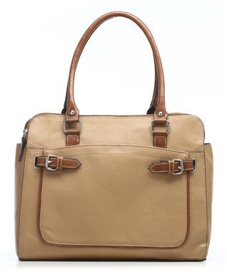 emilie m. Red Gail Compartment Tote