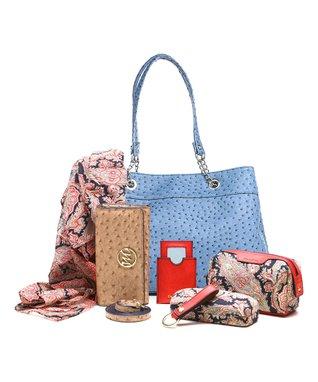 emilie m. Aimee Canvas Beach Tote & Essentials Set