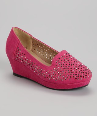 Fuchsia Low Loafer
