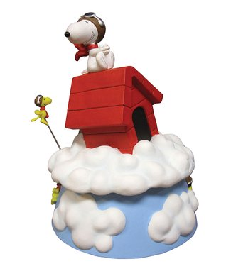 Snoopy & Woodstock-in-the-Box Figurine