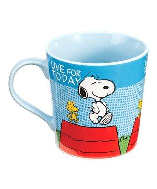 Peanuts 'Live it Up' Mug