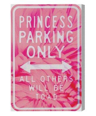 Princess Parking' Wall Art