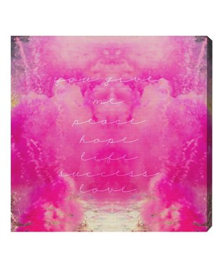 Oliver Gal Blurry Roses Wall Art