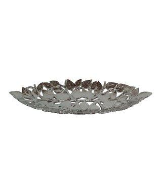 Silver Ceramic Bowl