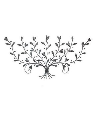 Silver Metal Wall Decoration