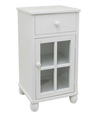 White Short Cabinet