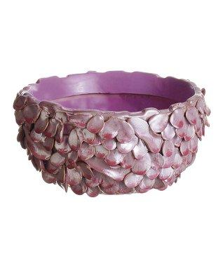 Tall Coral Ceramic Vase