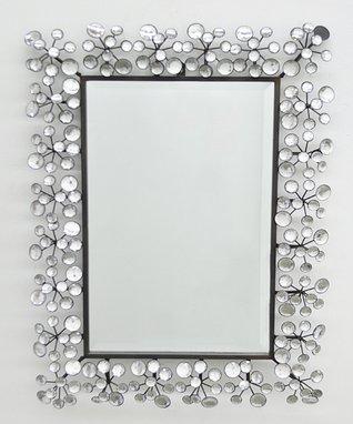 Jeweled Wall Mirror