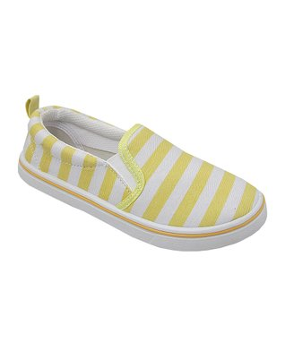 Yokids Pink Stripe Sylvia Slip-On Sneaker