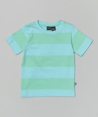 Pogo Club Turquoise Lace Ariel Tunic & Jeggings - Girls