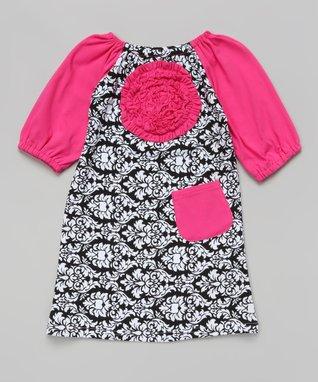 Hot Pink Quatrefoil Tutu Bodysuit - Infant
