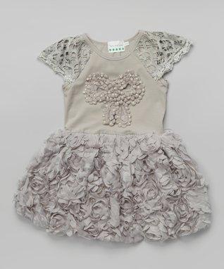 Black Pearl Flower Tank - Infant, Toddler & Girls