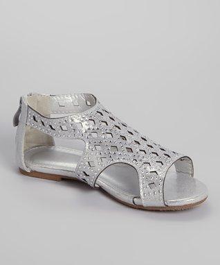 Silver Avril Gladiator Sandal