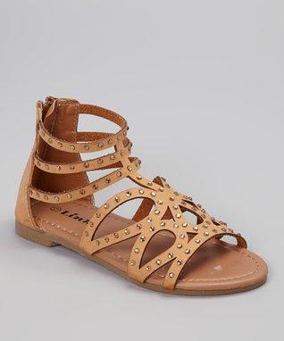 Camel Gerri Gladiator Sandal