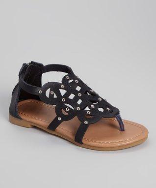 Black Gerri Sandal