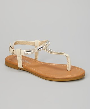 Nude Perforated Flat