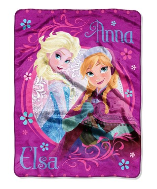 Frozen Loving Sisters Throw