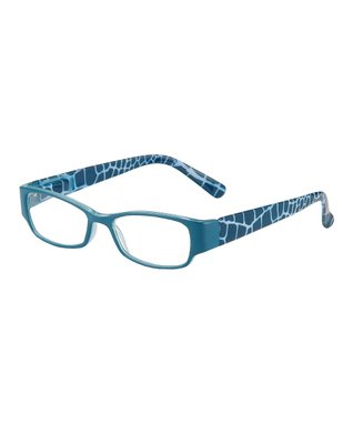 Teal & White Salty Eye Candy Readers