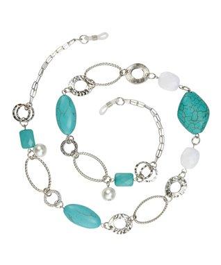 Silvertone Kayla Boutique Eyeglasses Chain