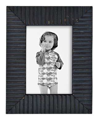 Navy Intentionally-Distressed Frame