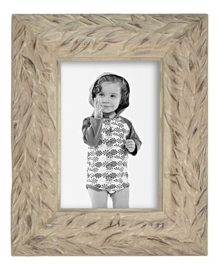 Ivory Intentionally-Distressed Frame