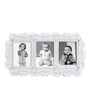 White & Black Three-Picture frame