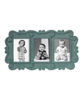 Green Three-Picture frame