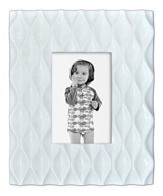 White Diamond Pattern Frame