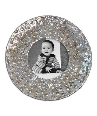 Silver Round Frame