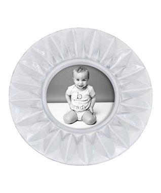 White Round Frame
