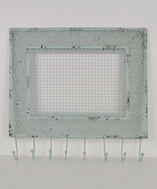 Gray Wall Hook & Display