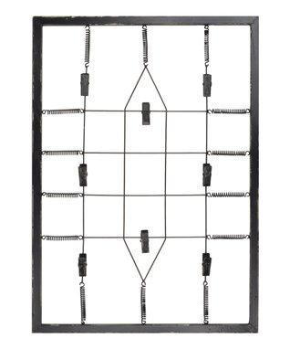Gray Wire Memo Board