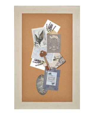 Framed Cork Memo Board
