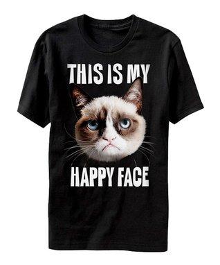 Gray Grumpy Cat 'How About No?' Tee - Men