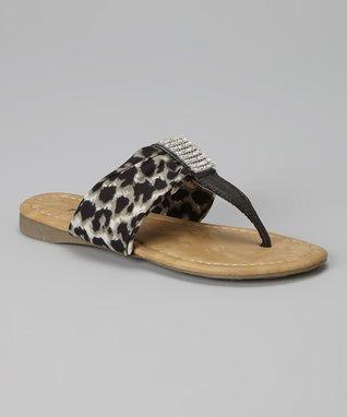 Gold Buckle Knee-High Gladiator Sandal