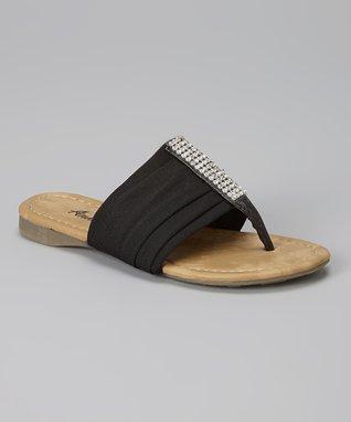 Tan Loop Ankle Gladiator Sandal