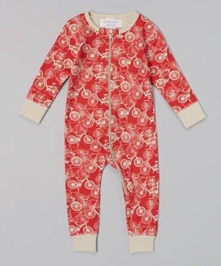 Sweet Peanut Pink & Yellow Floral Organic Bodysuit - Infant