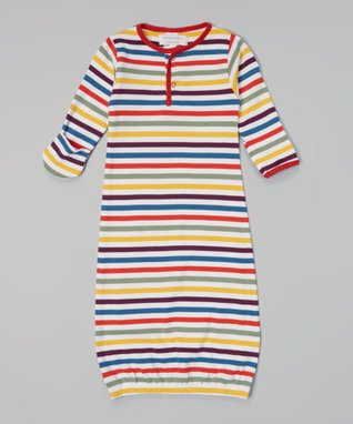 Sweet Peanut Red & White Hearts Organic Playsuit - Infant