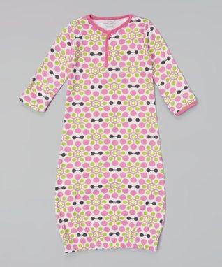 Sweet Peanut Green & Navy Stripe Organic Playsuit - Infant