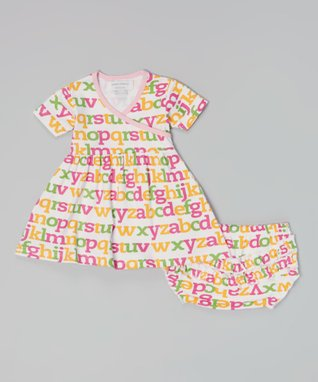 Sweet Peanut Red Bicycle Organic Gown - Infant