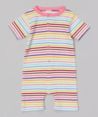 Sweet Peanut Red Bicycle Organic Playsuit - Infant