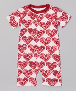 Sweet Peanut Pink Alphabet Organic Gown - Infant