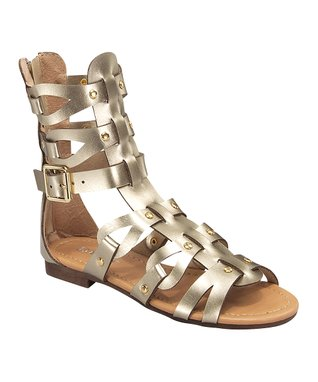 Gold Atta Gladiator Sandal