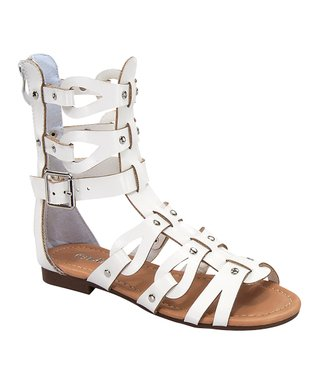 White Atta Gladiator Sandal