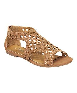 Tan Avril Gladiator Sandal