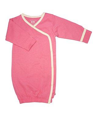 Sweet Peanut Pink Alphabet Organic Romper - Infant