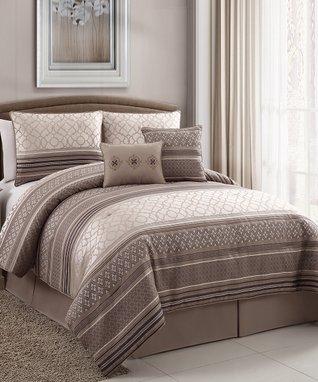 Black & White Isabella Comforter Set