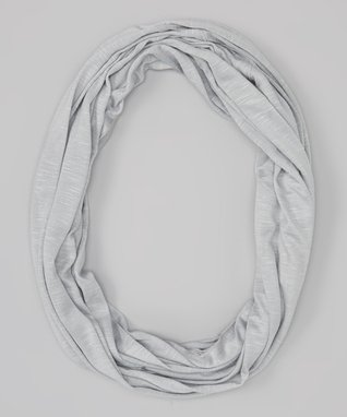 Erge Silver Infinity Scarf