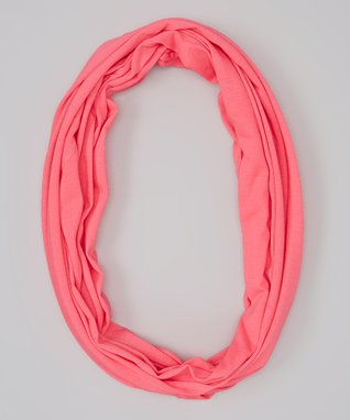 Erge Neon Pink Infinity Scarf