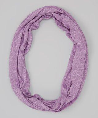 Erge Purple Burnout Infinity Scarf